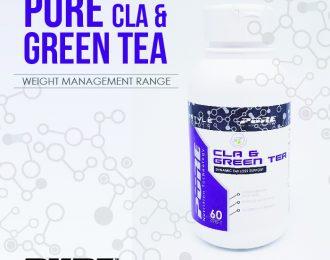 PURE CLA & GREEN TEA